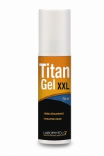 Titan gel XXL 60 ml : Crème développante permettant d'augmenter la taille de son pénis.