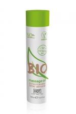 Huile de massage BIO amande amère - HOT : Huile de massage BIO et Végan au parfum érotique et raffiné amande amère, par HOT. Flacon de 100 ml.
