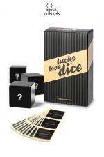 Dés Lucky love Dice : Trois dès pour jeux libertins. Le sort décidera de quoi, où et comment...