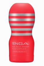 Masturbateur Original Vacuum Cup - Tenga : Amateur de gorge profonde? Le nouveau masturbateur Tenga Original permet de simuler des fellations particulièrement intenses !