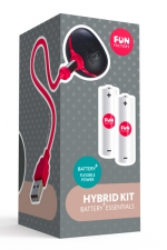 Hybrid Kit Fun Factory Battery plus : Avec l'hybrid Kit, transformez votre sextoy Battery + en vibromasseur rechargeable.