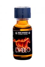 Poppers Diablo Amyl 25ml - Jolt : L'arôme aphrodisiaque diabolique au Nitrite d'Amyle, offrant des sensations ultra fortes (flacon de 25 ml).